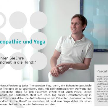 Osteopathie und Yoga